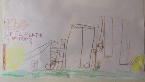 Kinder malen Waldlaubersheim